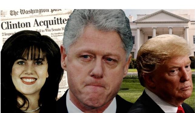 Por qué el escándalo sexual entre Bill Clinton y Monica Lewinsky facilitó la elección de Donald Trump