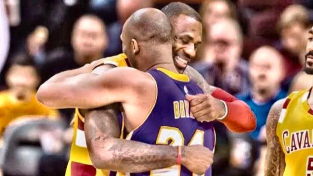 LeBron James llora la muerte de Kobe Bryant (VÍDEO)