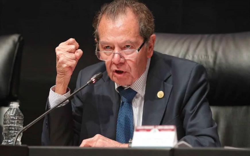 """Muñoz Ledo se dice víctima de """"guerra sucia"""" por exhibir a la Guardia Nacional"""