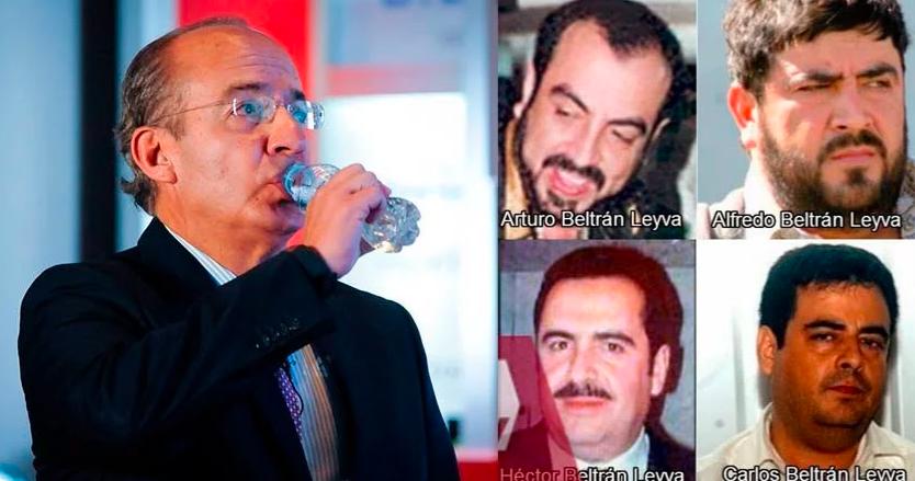 Calderón recibió millones por parte de los Beltrán Leyva ¿lideraba el cártel?