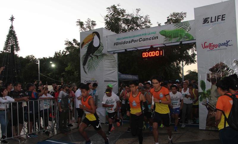 Cancún: Zubirán y Hausleber ganan carrera por la paz