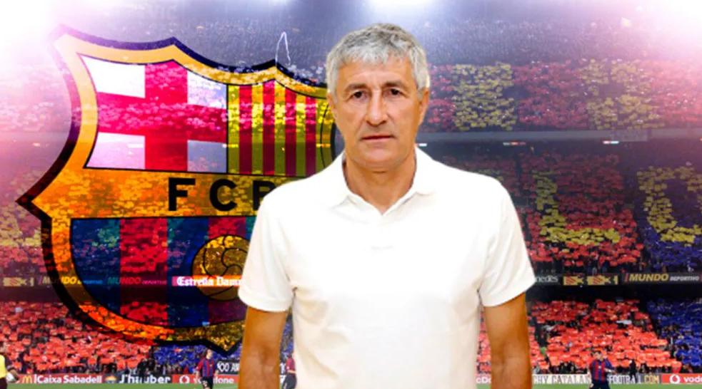 Confirmado: El Barcelona estrena timonel: Quique Setién