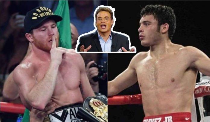 Chávez Jr reta a 'Canelo' y se enoja David Faitelson