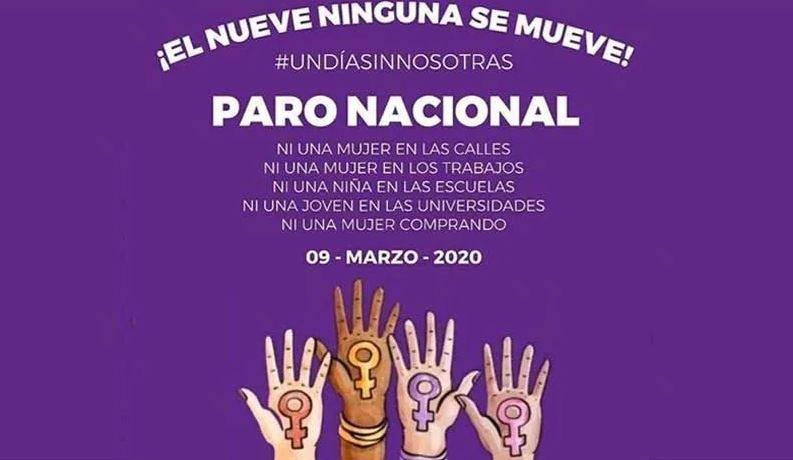 Gobierno de Guanajuato apoya el paro de mujeres #UnDíaSinNosotras