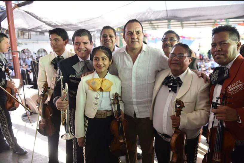"""Cuauhtémoc se echa un """"palomazo"""" tras instaurar el Día Estatal del Mariachi Morelense"""