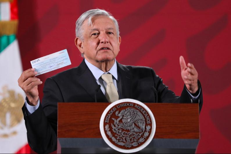 AMLO anuncia que México recuperó 2 mmdp de un fraude hecho al Infonavit