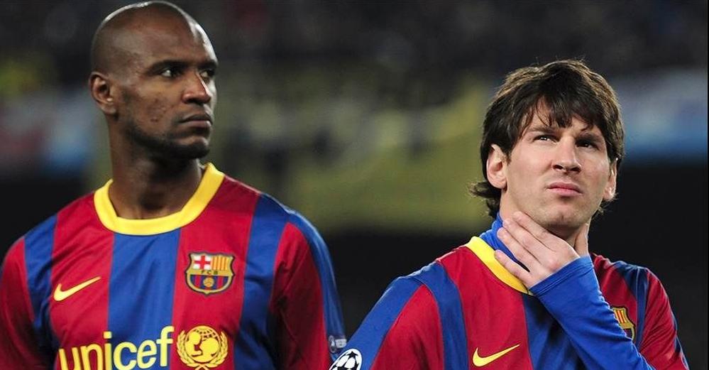 Messi arremete contra Eric Abidal directivo del Barcelona