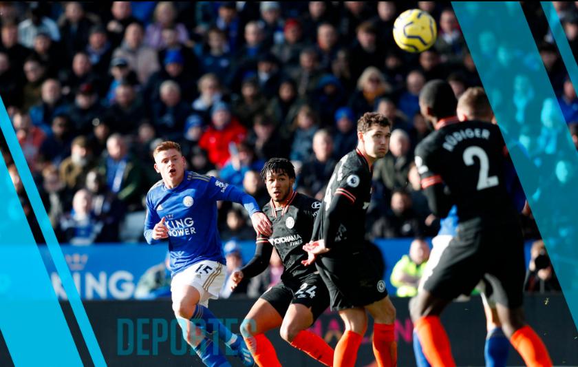 El resumen del Leicester vs. Chelsea de la Premier League : goles y estadísticas