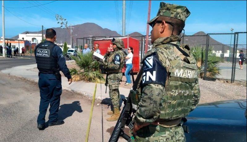 En Sonora, 200 litros de metanfetamina fueron decomisados por la Guardia Nacional