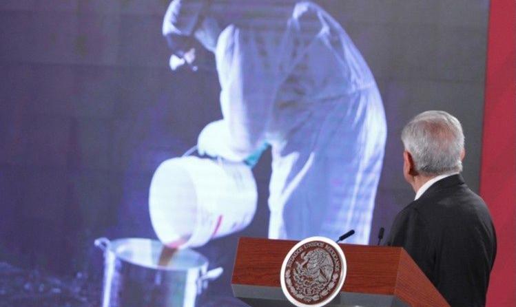 Arranca segunda etapa de campaña contra las drogas; AMLO plantea exposición