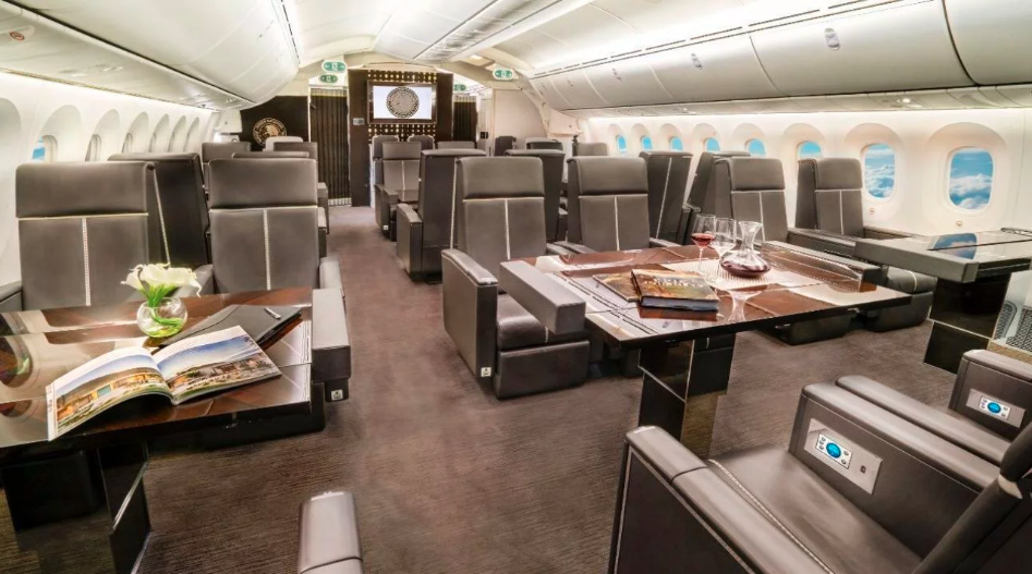 Así luce el interior del Avión Presidencial que será rifado por AMLO (FOTOS)