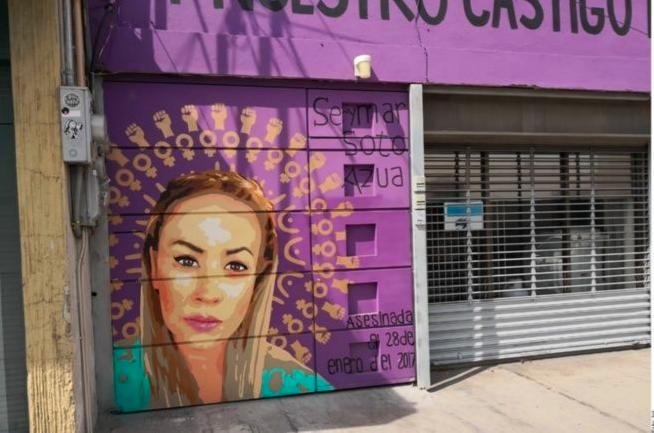 Alcalde de Saltillo busca censurar mural contra feminicidios