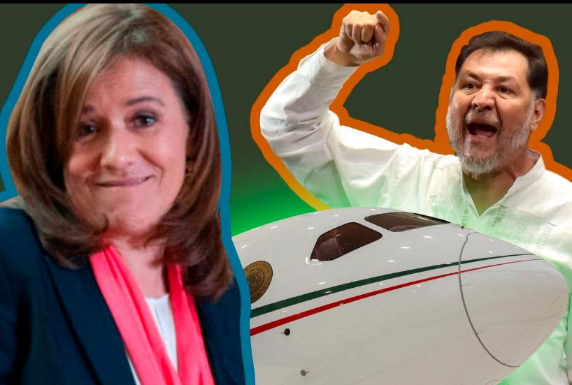 Noroña tacha de mentirosa a Margarita Zavala, esposa de Calderón