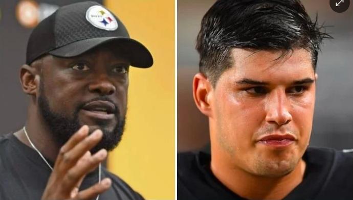 NFL: Mike Tomlin defiende a Mason Rudolph de las acusaciones de racismo