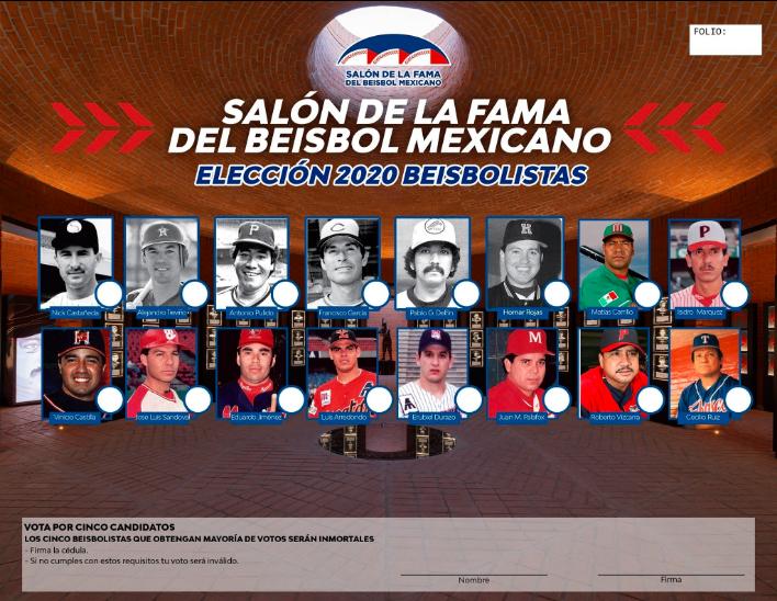 LMB: Salón de la Fama del Béisbol en México abrió votaciones