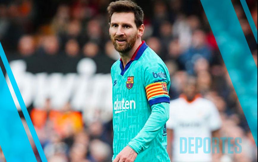 Manchester City buscaría a Messi si deja al Barcelona