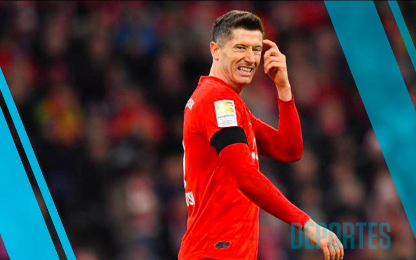 Robert Lewandowski del Bayern Múnich estará FUERA cuatro semanas