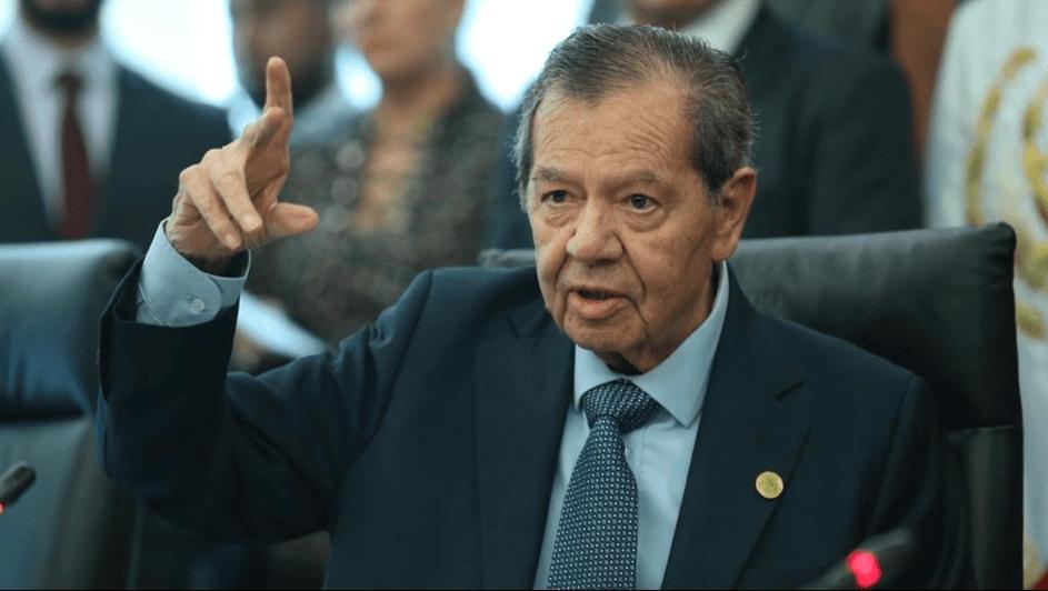Porfirio Muñoz Ledo llama hipócritas y lambiscones a diputados de Morena