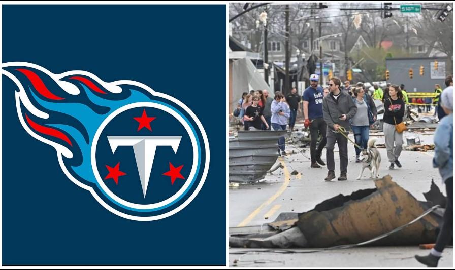 NFL: Tennessee Titans auxilian a los afectados por los tornados en Nashville