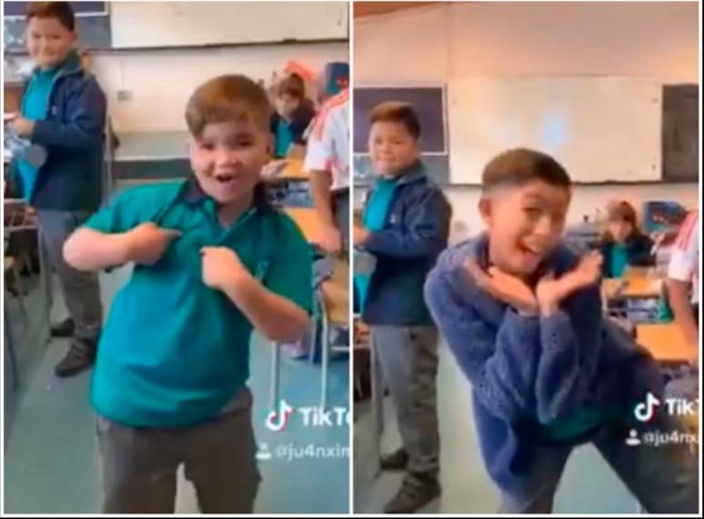 VIDEO VIRAL: Niños arrasan en Tik Tok con intrépida canción (final inesperado)