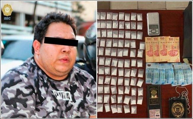 """Cae """"Nene Bonilla"""" miembro de la Unión Tepito que decía ser policía y diputado"""