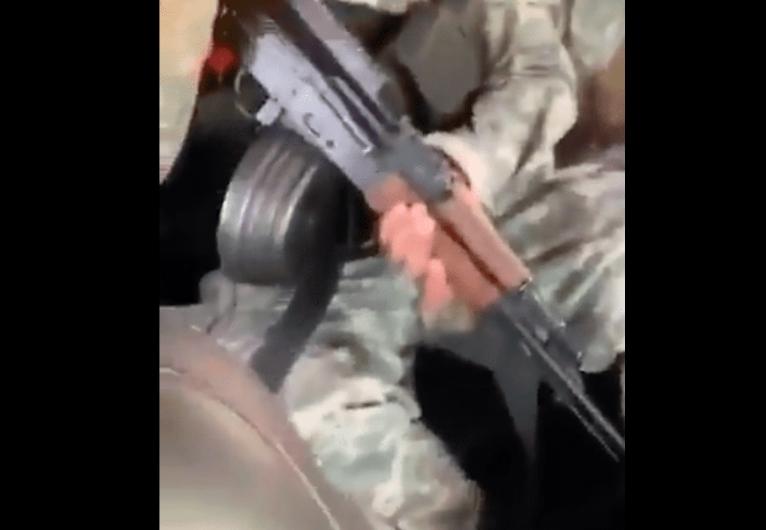 VIDEO: Armados y con música sicarios del CJNG pasean por Guanajuato y SLP