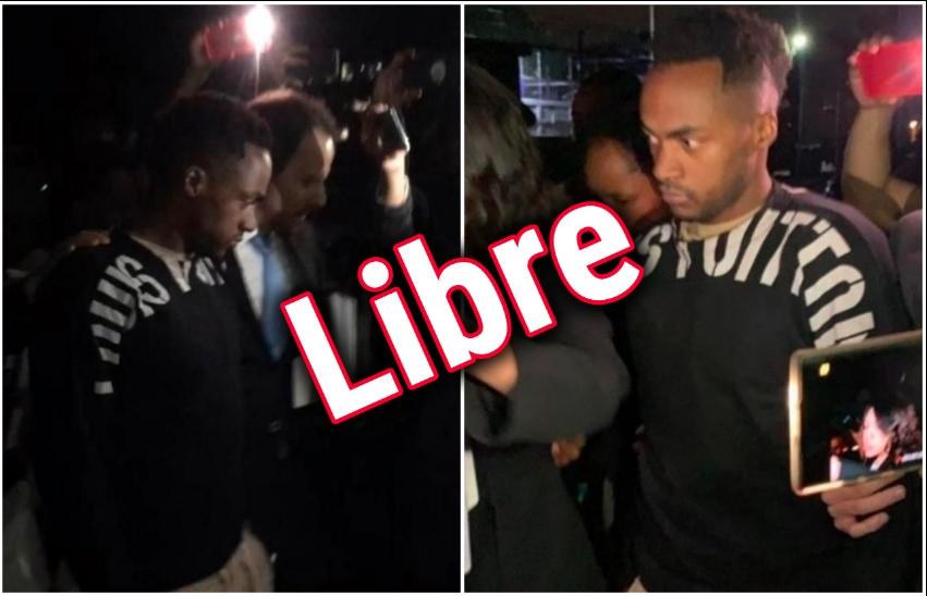 """Renato Ibarra """"LIBRE"""", sale del reclusorio (VÍDEO)"""