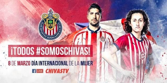 Liga MX: Chivas y América celebran el Día Internacional de la Mujer