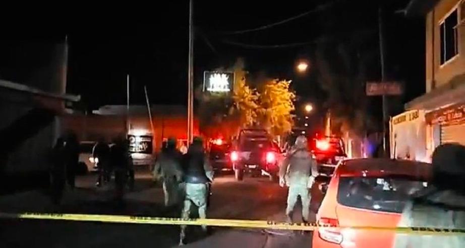 Balacera en bar de Salamanca deja 3 muertos y 5 heridos