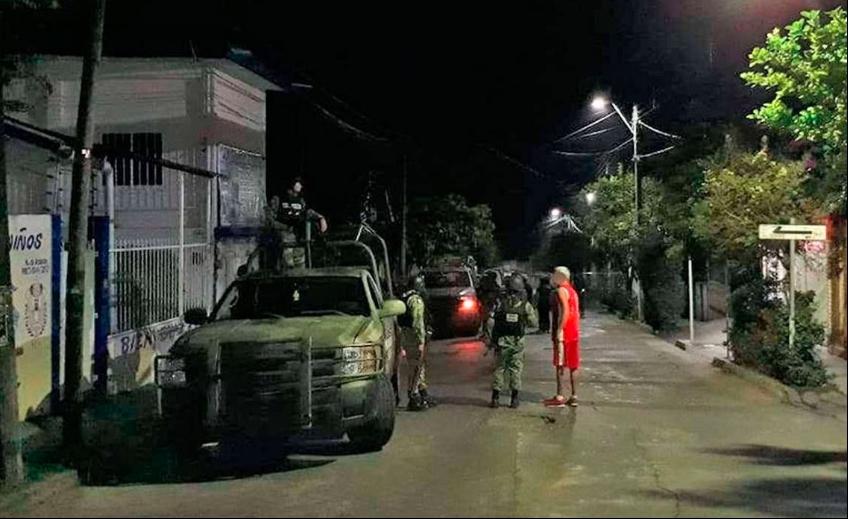 Abaten a presunto jefe del CJNG en un domicilio de Veracruz