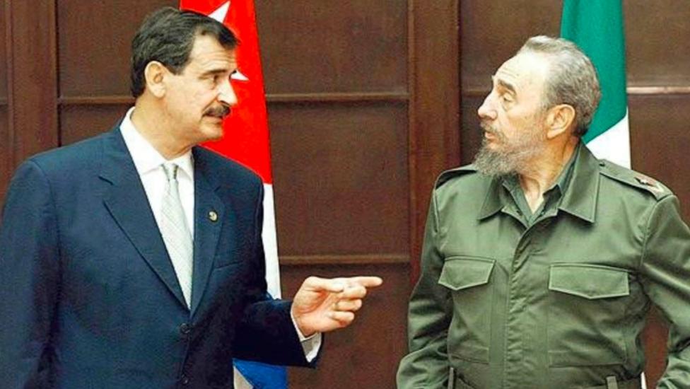 """Vicente Fox humilló a Fidel Castro con una invitación de """"comes y te vas"""""""