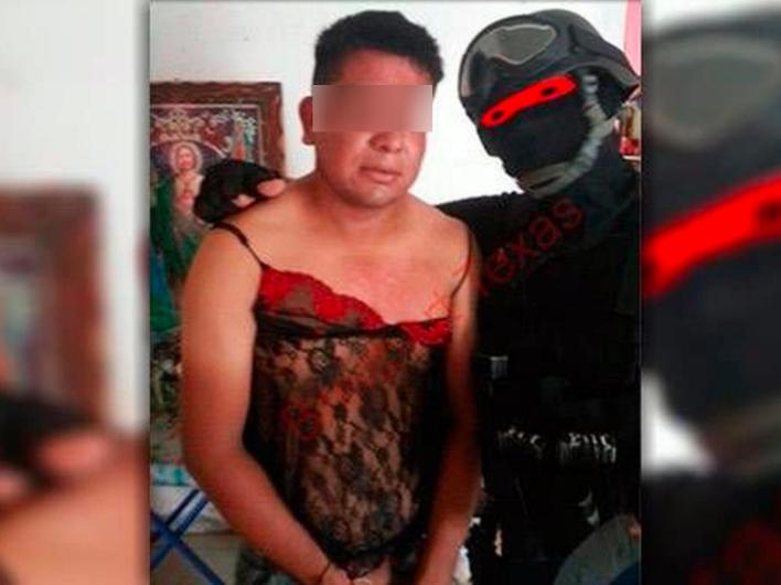 Blog del narco: El Marino Loko, el militar que vestía a sicarios de mujer