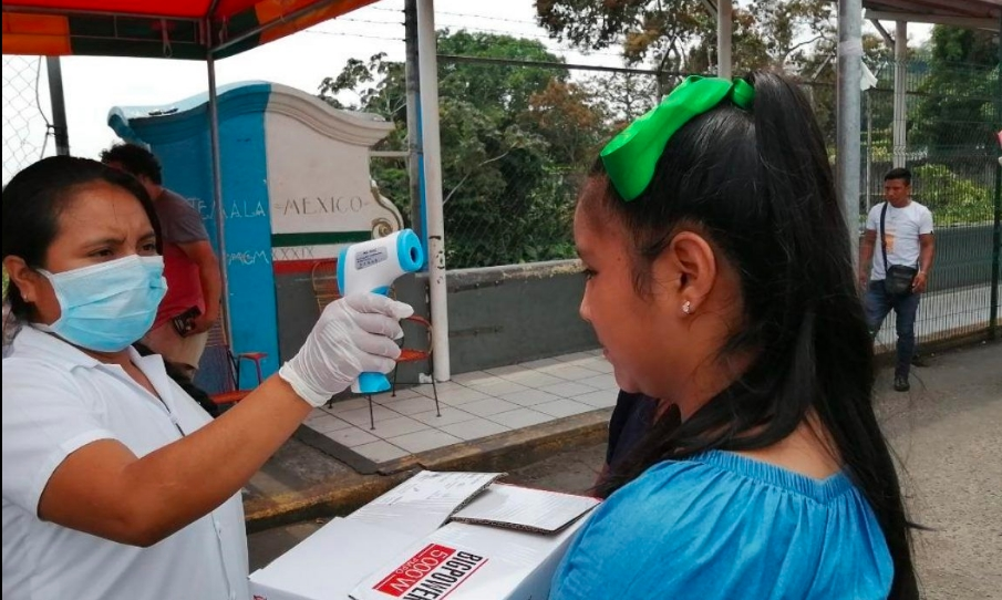 Marcelo Ebrard reconoce filtros sanitarios de Chiapas ante COVID-19