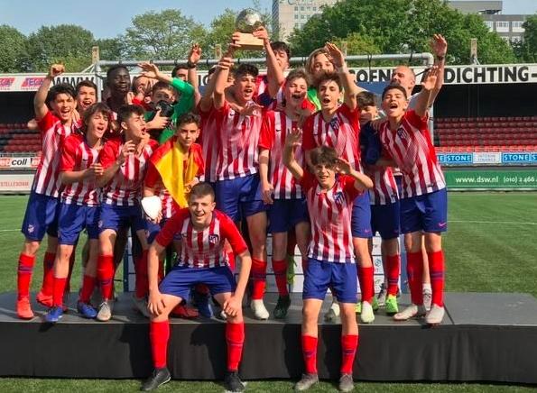Promesa del Atlético de Madrid pierde la vida