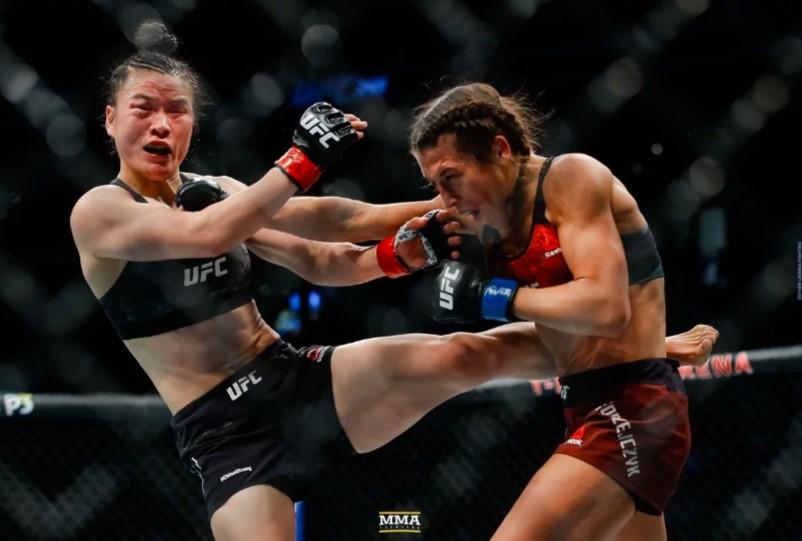 UFC: La mejor pelea femenil dentro de las Artes Marciales Mixtas (VIDEO)