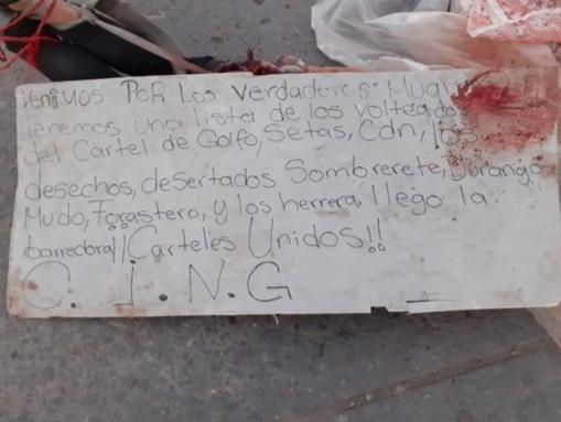 VIDEO: CJNG y Cártel del Golfo decapitan a miembro del Cártel de Sinaloa