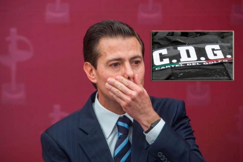 Enrique Peña Nieto huyó dos veces del cártel del Golfo