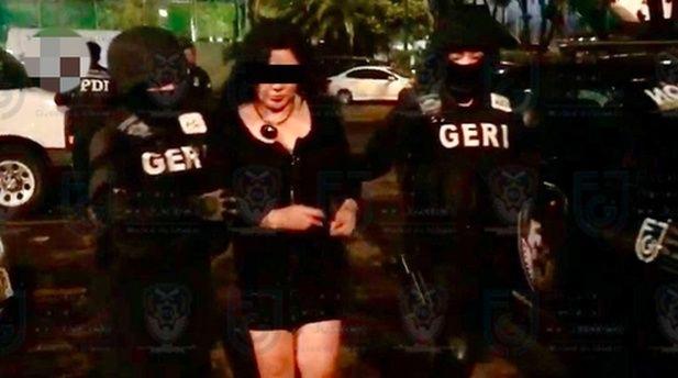 VIDEO: Presunta líder del CJNG es detenida en Ciudad de México