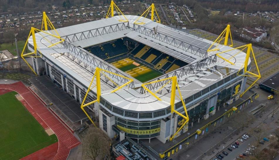 Dortmund convierte su estadio en hospital por el Coronavirus
