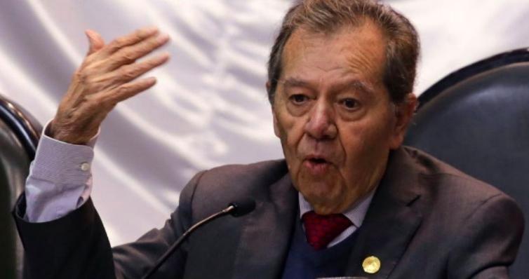 Muñoz Ledo rechaza la disminución de salario y supresión de aguinaldos