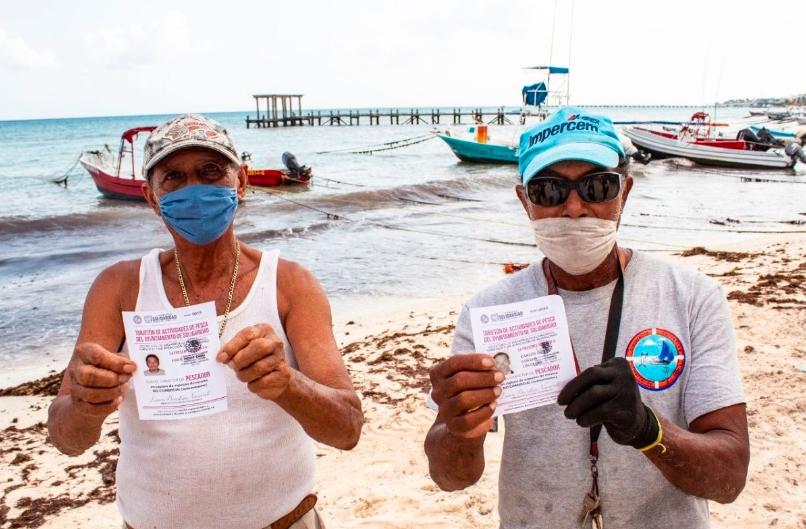 Coronavirus Playa del Carmen; otorgan 132 permisos de pesca para autoconsumo