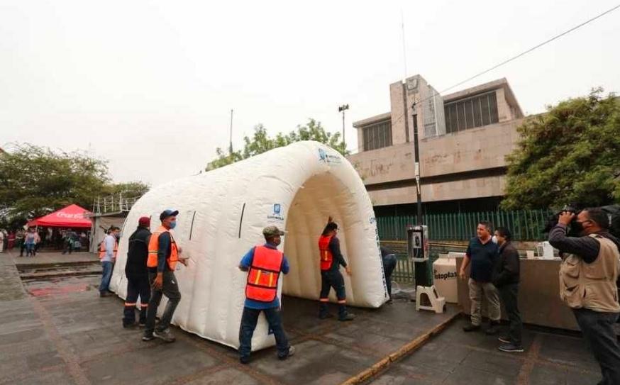 Gastará Congreso de Guanajuato 80 mil pesos en túnel sanitizante
