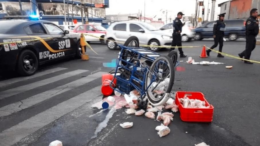 Muere vendedor ambulante atropellado por pipa de agua en Iztapalapa, CDMX
