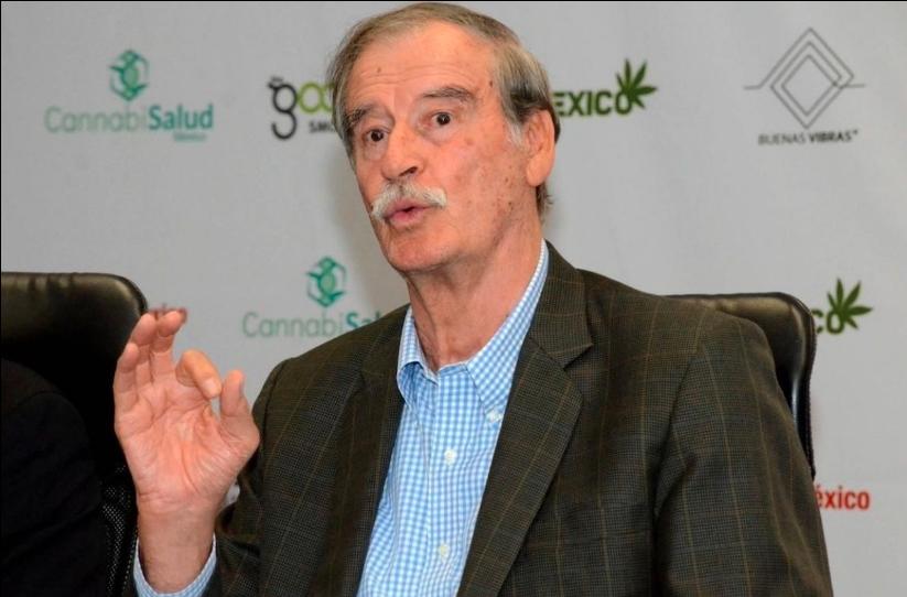 Vicente Fox dice que en la cuarentena del coronavirus vive al día
