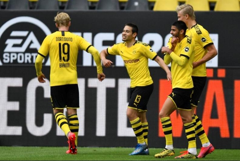 Bundesliga: Dortmund golea al Schalke en el regreso de la liga (VIdeo)