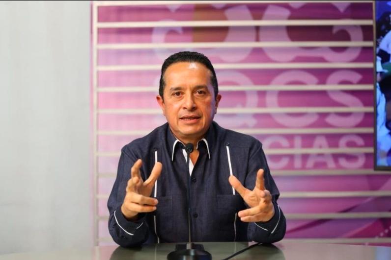 Industria turística será base de la nueva realidad en Quintana Roo: Carlos Joaquín