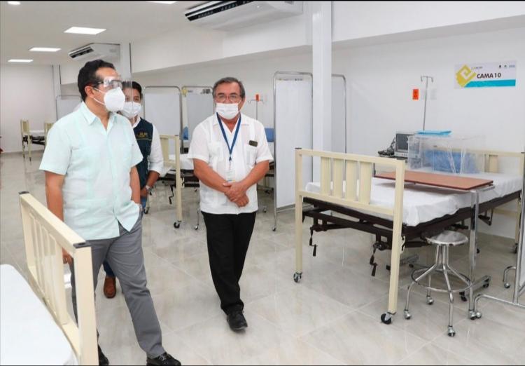 Destina gobierno de Quintana Roo siete millones de pesos en hospital de Cozumel
