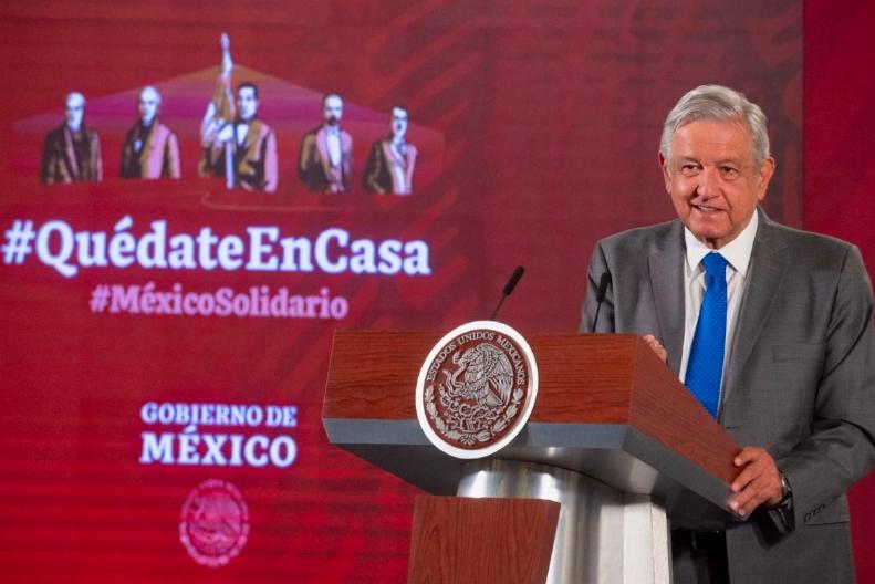 AMLO temas de la conferencia matutina 5 de mayo: Pide quitar fuero al Presidente