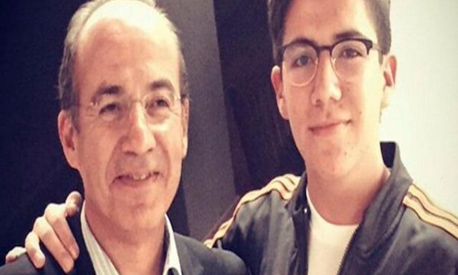 Hijo de Felipe Calderón involucrado en OTRO escándalo político