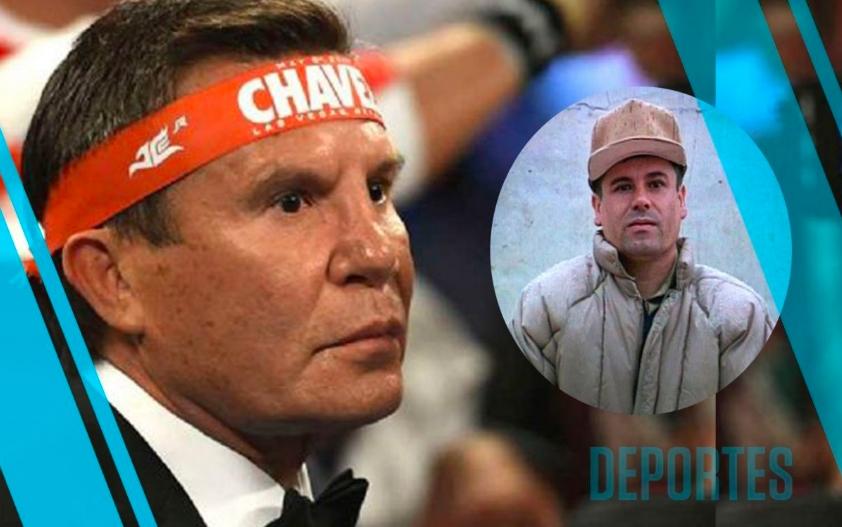 Julio César Chávez CONFIESA conocer al 'Chapo' Guzmán (Fotos y Video)